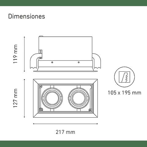 POINTS MINI II L5906-YEK 100-305V 15° 30K NG