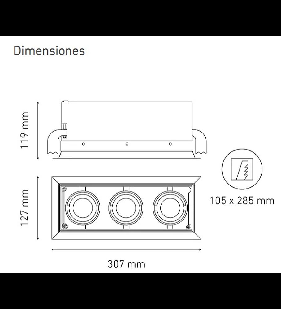POINTS MINI III L5907-YEK 100-305V 15° 30K NG