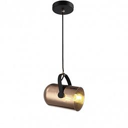 PIXEL Pendant 1 Light oro y cristal  Q60666-CP