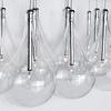 Larmes 9-Luces E20116-18 Colgante Decorativo Acab. Cromo