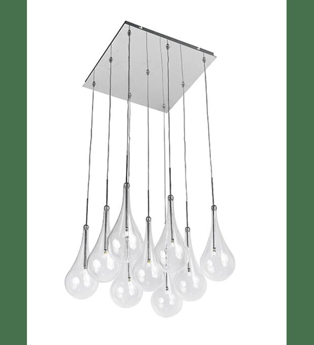 Larmes 9-Light LED Pendant E20516-18PC