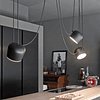 Pendant Marco 3 light Black Q27140-BK
