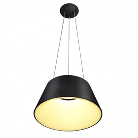 Lámpara THEO Colgante LED 36W 4000K Negro Mate Q27787-BK