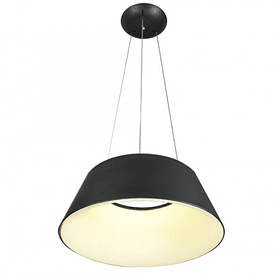 Lámpara THEO Colgante LED 40W 4000K Negro mate Q27788-BK