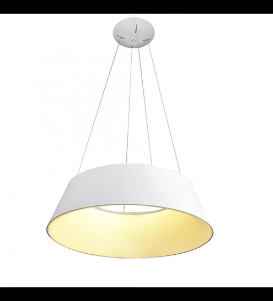 Lámpara THEO Colgante LED 60W 4000K blanco mate Q27789-WH