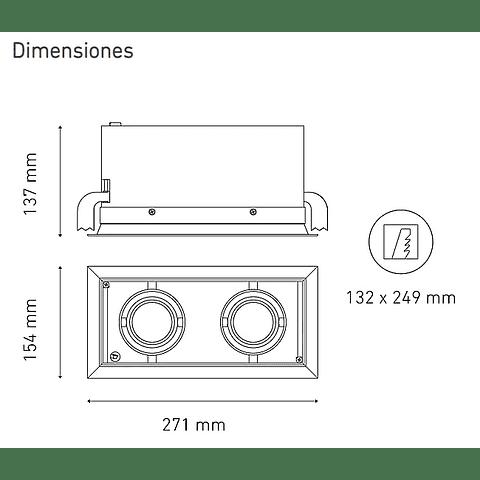 POINTS MP II L5909-YIL 100-305V 25° 40K NG
