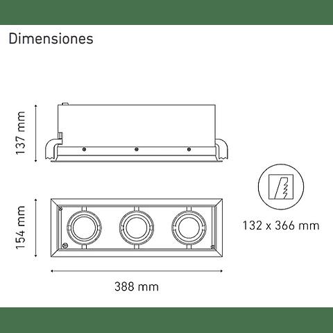POINTS MP III L5910-YEK 100-305V 15° 30K NG