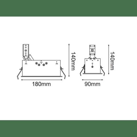 MINI SQUARE DIRIGIBLE MR-16 06-4402-03