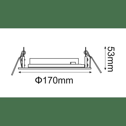 DOWNLIGHT BASIC DIRIGIBLE PARA AR111 06-2489-01