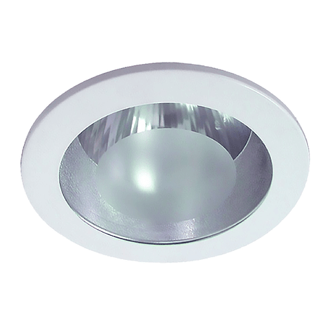 EMPOTRABLE FIJO BASIC E26 FROSTED BLANCO 06-2283-01