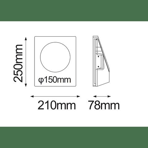 Empotrable a Muro GYPSUM de yeso GU10 max 35W 08-3013-10