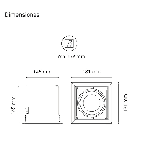 POINTS AP I L5911-YIL 100-305V 25° 40K NG
