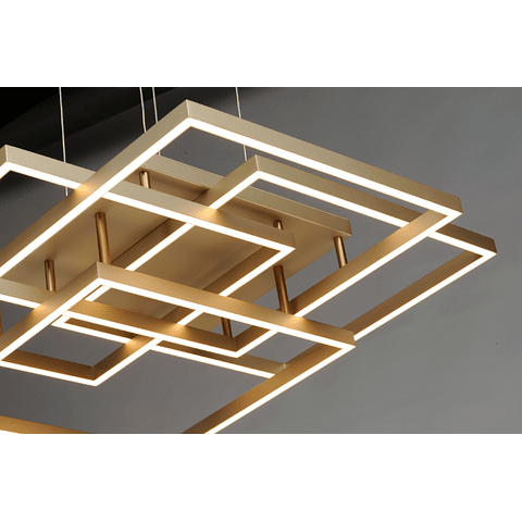 TRAVERSE LED Pendant E21515-CHP 12 lights Acab. Champagne