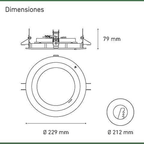 M 3600 DOM L5040-1ED 37W 100-305V 30K BC
