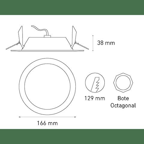 LUNA 9E L6356-130 9W 100-240V 60K BC