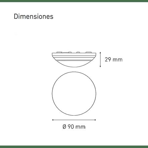 CEILING LED 100 L5201-130 5W 100-240V 60K BC