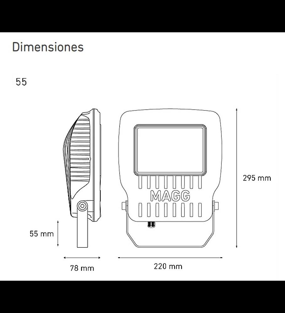 MAGG L7452-630 KR55 II 100-240V AFP 60K GR AC