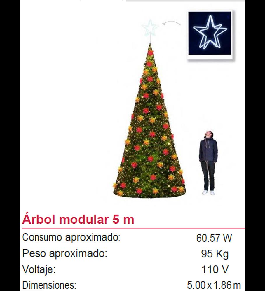 AM-05 Árbol Gigante de Navidad 5M