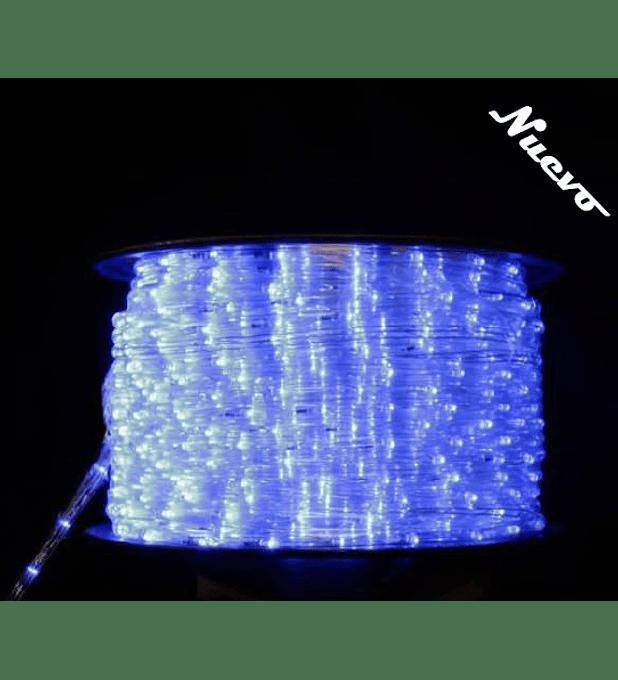 Manguera led animada luz azul profesional 100m