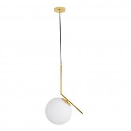 Sonne Pendant 1 light Opalino Q31627-GD
