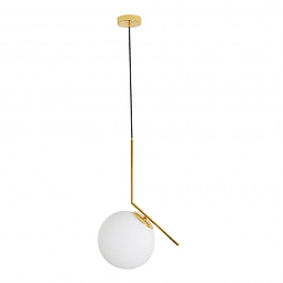 Sonne Pendant 1 light Opalino Q31627-GD