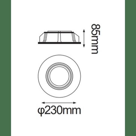 Gypsum Empotrable de Yeso AR111 Max 50W 06-9442-10
