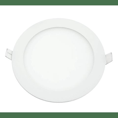MINI FLAT Empotrable Circular 6W Luz Neutra 6-0406-NW