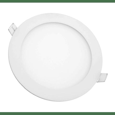 MINI FLAT Empotrable Circular 9W Luz Cálida 6-0509-WW