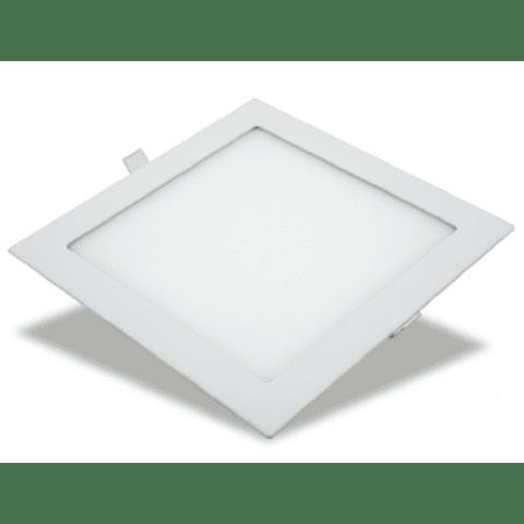 MINI FLAT Empotrable Cuadrado 9W Luz Cálida 06-4509-WW