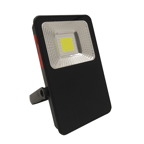 WRE-011 REFLECTOR SLIM LED PORTATIL 10W USB CARGADOR BLANCO FRIO EXT.