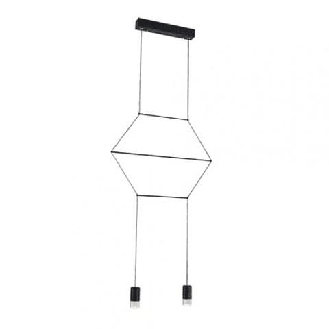 Sketch Pendant Lamp holder: LED 24W , 4000K  material:steel+acrylic