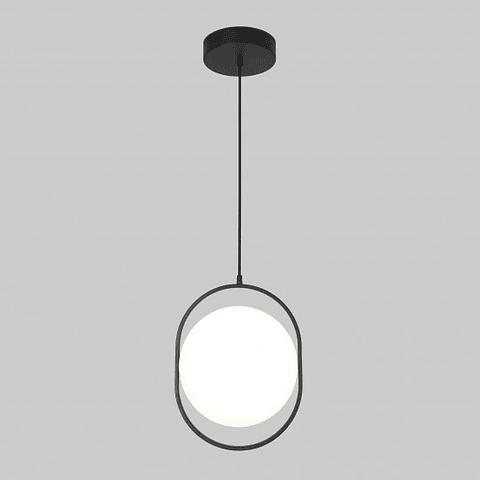 Q27245-BK Lámpara Decorativa  Berlín acabado Negro Mate 22W Diámetro 28cm