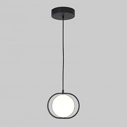 Q27243-BK Lámpara Decorativa Berlín Pendan acabado Negro Mate 12W Diám. 18cm