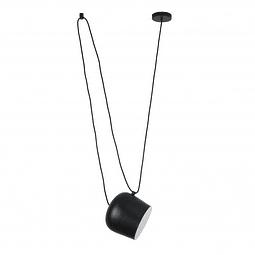 Marco Pendant 1 light E26  20W,  acero y acrilico