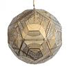 Q48074-GD Lámpara Core 1 luz E12 Acabado Oro Metal