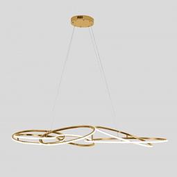 Pablo Pendant Aros LED acabado oro Q29083-GD