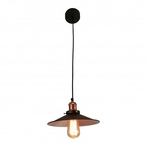 Q25022-BK Kelch Lámpara Vintage Acabado Negro E26