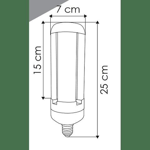 Lámpara LED de alta potencia 30W luz blanco frío E39