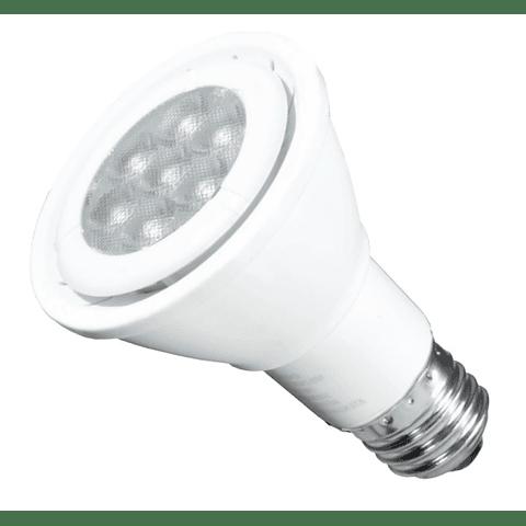 Lámpara LED PAR20 7W Luz Blanco Frío E26
