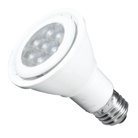 Lámpara LED PAR20 7W Luz Blanco Cálido E26 Atenuable