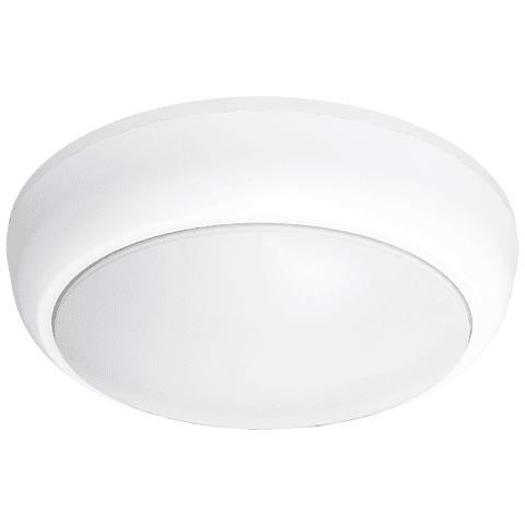 ADO-018 Panel LED redondo sobreponer PC exterior 12W blanco frío