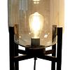 Lampara de Mesa Vintage Industrial E26 Filamento Mod. 3LMDI02
