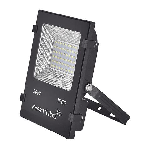 ARE-013 REFLECTOR LED SMD CUADRADO IP66 30W 12-24V BLANCO FRÍO