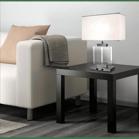 Lámpara de Mesa Estilo Contemporaneo 3LMTP330  E26 Satinado