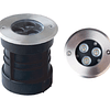 07-30100 Empotrable a Piso Terra, LED 3W, 45°, D100*H108mm