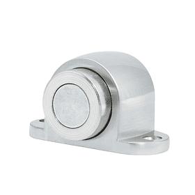 L1054LCS Tope magnético para puerta níquel satinado Pack 6 Pzs
