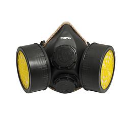 137352 Mascarilla respirador 2 filtros Surtek