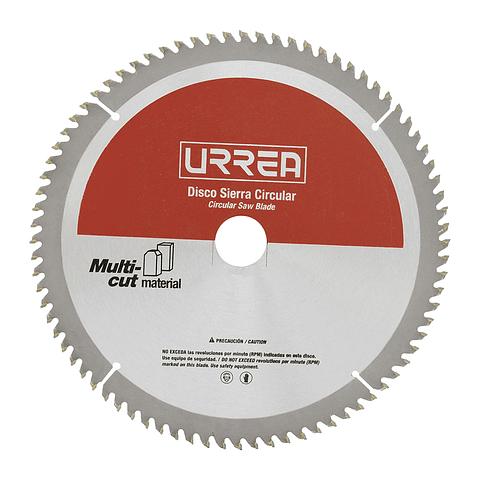 """Disco p/sierra circular para aluminio 12"""" 100 dientes Urrea Mod. DSA12100"""