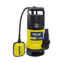 Bomba sumergible para agua sucia potencia de 1  1/2HP Surtek