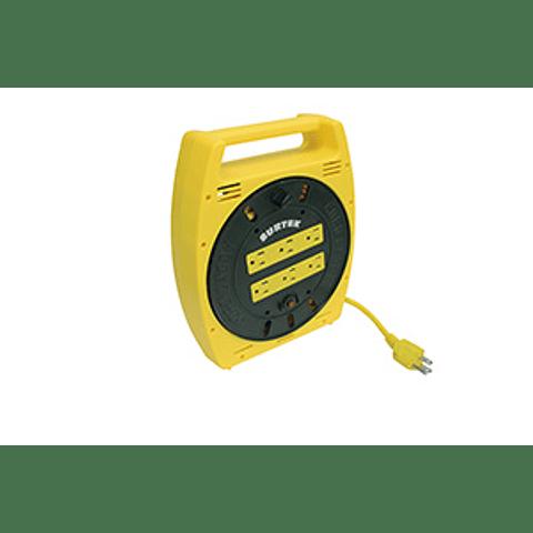 136035 Extensión eléctrica tipo carrete multicont 6mt Surtek